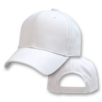 2xl - 4xl White Baseball Cap