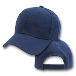 Big Navy Blue Adjustable Cap