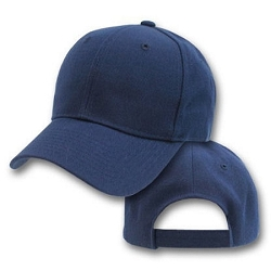 Big Size Navy Adjustable Cap