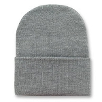 Big 2XL Gray Knit Cap