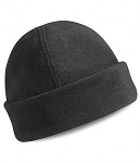 Big Black Fleece Cap