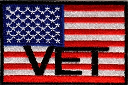 American Flag Vet Patch