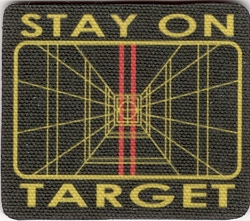 Tactical Stay On Target Velcro Patch