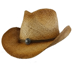 Big Size 2XL Raffia Straw Cowboy Hat