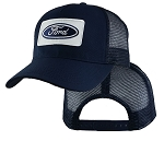 Ford Logo On Navy Mesh Big Cap