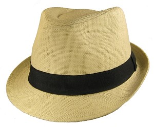 3Xl Straw Fedora