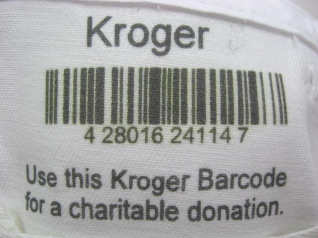 label of kroger barcode