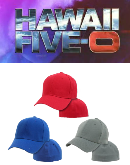 Hawaii 50 FlexFit Hats