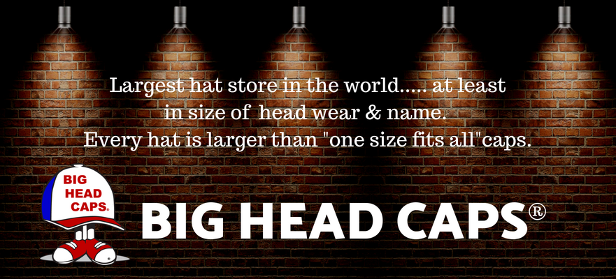 BIG HEAD CAPS -Big Size Hats & Caps