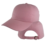 Big Size Pink Low Profile Cap