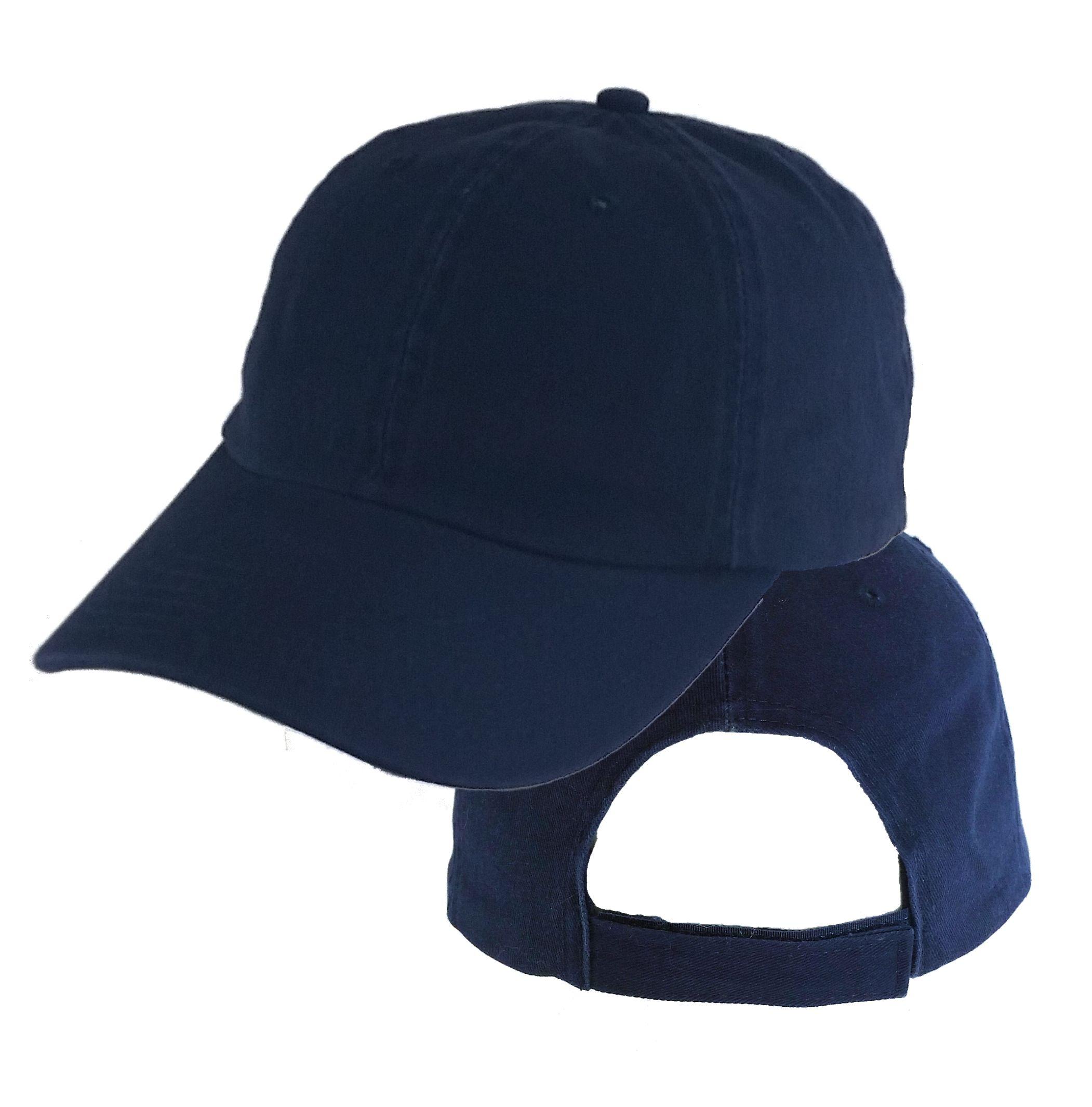 fa38922f387d9 Big Size Navy Low Profile Cap
