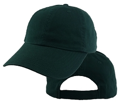 Big Size Forest Green Low Profile Cap