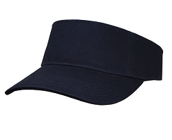 Big Size Navy Adjustable Visor