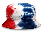 Big American Tye-Dye Bucket Hat