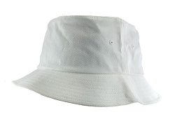 Big Size 3XL/4XL White FlexFit® Bucket Hat