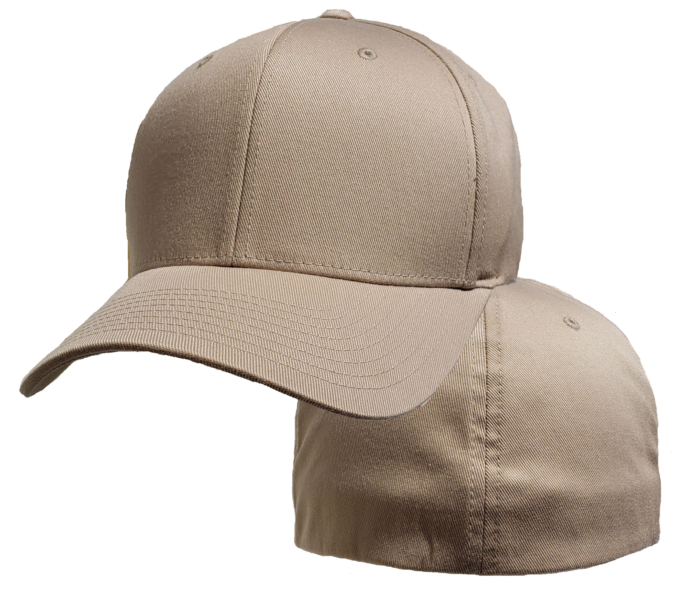 91890a3b5 Big Khaki 2Xl Flexfit® Cap