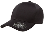 Big 4XL/5XL Black Delta FlexFit® Cap