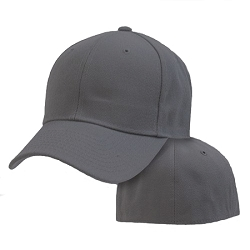 Big Size 4XL Dark Gray FlexFit® Cap