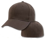 Big 2Xl Brown Flexfit Cap
