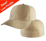 Big Size 2XL Khaki Low Profile FlexFit® Cap