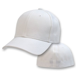 Big Size White Flexible Cap
