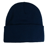 Big Supersized Navy Knit Cap