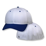 2Xl White/Royal Pro Mesh Flexfit