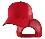 Big Red Mesh Cap