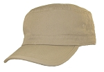 Big Khaki Military Hat