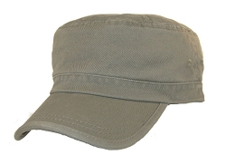 Big Olive Green Military Hat