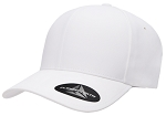 Big 2XL/3XL White Delta FlexFit® Cap