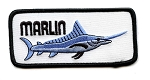 Marlin Embroidered Patch