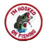 Hooked On Fishing Emblem