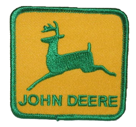 John Deere Emblem (Green And Gold)