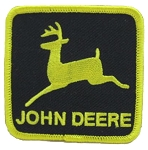 John Deere Emblem (Black And Gold)