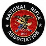 NRA Black & Red Emblem