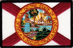 Florida State Flag Embroidered Emblem
