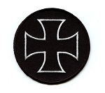 Iron Cross Circle Emblem