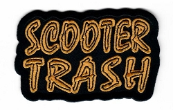 Scooter Trash Emblem