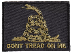 Don't Tread on Me Olive/Black Emblem