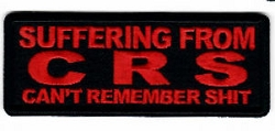 Suffering from CRS Emblem
