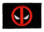 Tactical Deadpool Black Patch