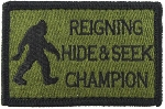 Tactical Hide/Seek Champion Green/Black Patch
