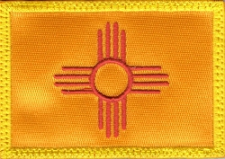 Tactical New Mexico Flag Patch