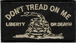 Tactical hook & loop Don't Tread On Me Patch