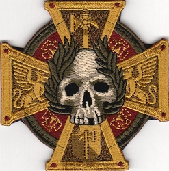 Tactical Skull Crusade Protector Cross