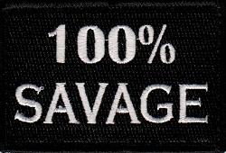 Tactical 100% Savage Patch