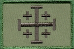 Tactical Crusade Cross on Green