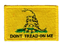 Tactical Don't Tread on Me Yellow Patch