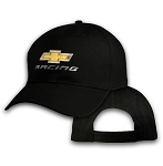 Big Chevy Racing On Black Adjustable Cap